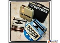 Reparatii/Service si consumabile masini de scris, cu executie rapida