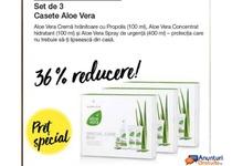 Set 2 creme cu Aloe Vera si 1 Spray de urgenţă
